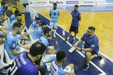 Foz Cataratas Futsal vence o Dois Vizinhos na estreia da Liga Futsal Paraná