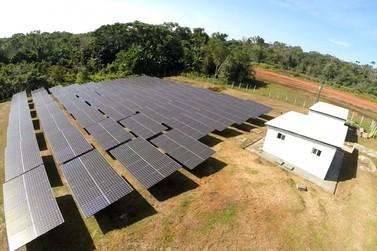 Itaipu recupera na Amazônia sistema de energia solar que reduz gerador a diesel