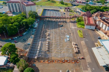 Estacionamento terá a maior cobertura de painéis fotovoltaicos da América Latina