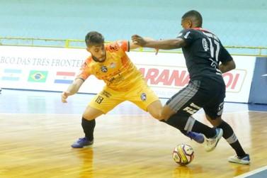 Foz Cataratas Futsal empata com o Campo Mourão e é eliminado na Liga Paraná