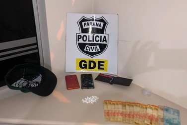 Traficante que fazia tele-entrega de drogas é preso em flagrante no centro