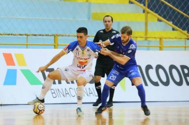 Com ausências por conta da covid-19, Foz Cataratas Futsal decide vaga na final