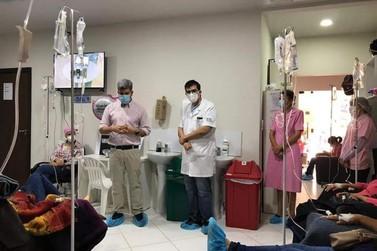 Serviço de oncologia de CDE completa mais de 700 quimioterapias no primeiro ano