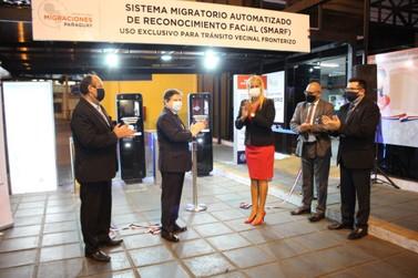 Sistema de reconhecimento facial é instalado no lado paraguaio da fronteira