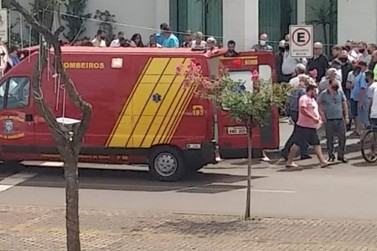 Tiroteio na porta de banco deixa ladrão ferido em Santa Terezinha de Itaipu