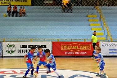 Dreams Park Show renova parceria com a Liga Iguaçuense de Futebol de Salão