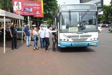 Motoristas de ônibus estariam evitando o terminal de CDE para não pagar taxa