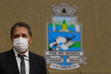 Prefeito de Foz do Iguaçu testa positivo para o coronavírus pela segunda vez
