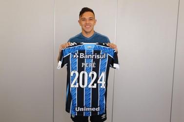 Pepê saiu de Foz do Iguaçu para se tornar a terceira maior venda do Grêmio