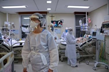 Ciudad del Este com falta de leitos nos hospitais por conta da pandemia