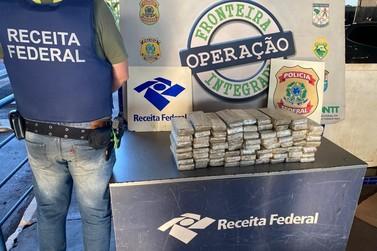 Receita Federal apreendeu 41 quilos de maconha na Ponte Internacional da Amizade