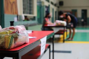 Secretaria de Educação dará continuidade à entrega dos alimentos da merenda