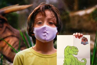 Vale dos Dinossauros lança concurso de desenho infantil com diferentes prêmios