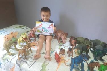 """Inscrições para o concurso de desenho """"Meu Dino Favorito"""" encerram neste sábado"""