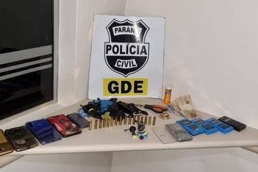 Polícia Civil fecha ponto de tráfico de drogas no bairro Parque Presidente