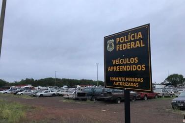 Polícia Federal implanta novo modelo de gestão de veículos apreendidos
