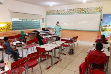 Segurança e tranquilidade marcam a volta dos alunos às escolas municipais