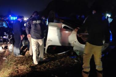 Brasileiro morre após se envolver em acidente em rodovia de Cidade do Leste