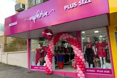 Euphoria Modas Plus prepara a inauguração da segunda loja em Foz do Iguaçu