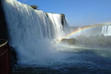 Quase nove mil pessoas visitaram as Cataratas do Iguaçu no final de semana
