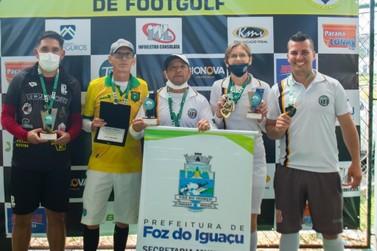 Times iguaçuenses de Footgolf conquistam etapas do Campeonato Brasileiro