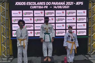 Atletas de Judô de Foz do Iguaçu são campeãs nos Jogos Escolares do Paraná