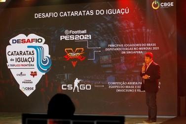 Foz do Iguaçu vai sediar evento nacional de esportes eletrônicos em outubro