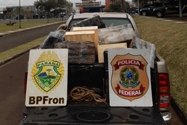 Policiais prendem nove pessoas com mercadorias contrabandeadas da Argentina