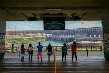 Visitação aos atratívos turísticos da Itaipu supera 30 mil pessoas em julho