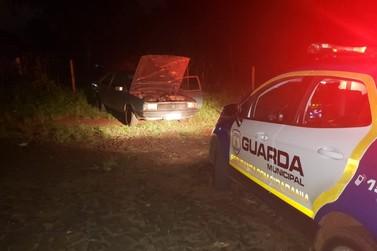 Guarda Municipal encontra no Bairro Carimã veículo furtado no dia 6 de outubro