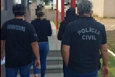 Mãe e filha suspeitas de envolvimento em homicídio são presas pela Polícia Civil