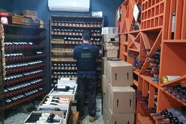Vinhos argentinos avaliados em R$ 25 mil são apreendidos em loja no Porto Meira