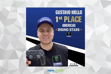 Campeão de Moto GP, Gustavo Melo é outro guaratubano que manda muito nos games