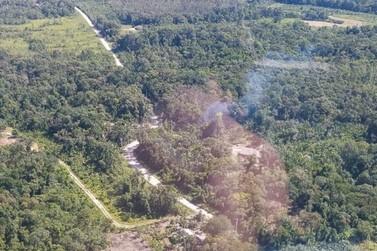 Operação identifica 13 pontos de crimes ambientais em Guaratuba
