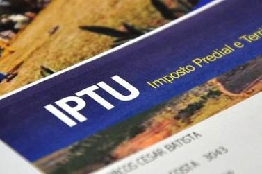 Prazo para pagamento da cota única e 1ª parcela do IPTU foram prorrogados