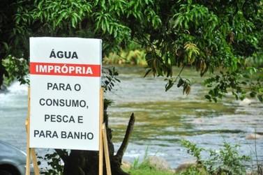 Rio São João segue interditado por derramamento de produto tóxico