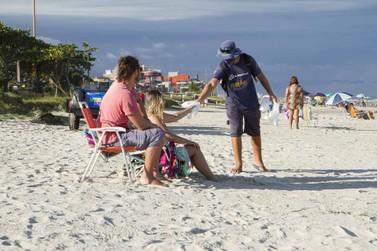 Sanepar retirou 136 toneladas de lixo das praias de Guaratuba durante o verão