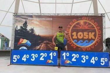 Guaratubano ganha prova de ultramaratona com trajeto de 105 km no Litoral