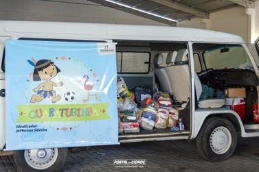 Guaratubinha arrecadou 3 toneladas de doações para famílias carentes