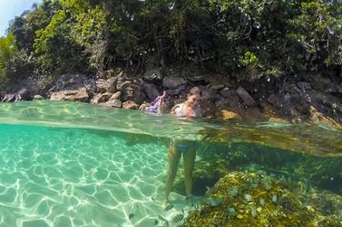 MSC Seaside te leva para as águas verdes de Ilha Grande, no Rio de Janeiro