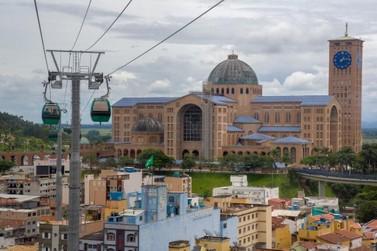 Viaggiare te leva para Aparecida do Norte, terra da Padroeira do Brasil