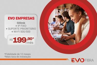 EvoFibra conta com planos empresariais com as vantagens do IP fixo