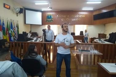 Câmara de Guaxupé recebe Plenária Regional do Parlamento Jovem