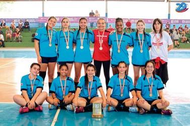 Handebol Feminino de Muzambinho é classificado para final dos Jogos da Juventude