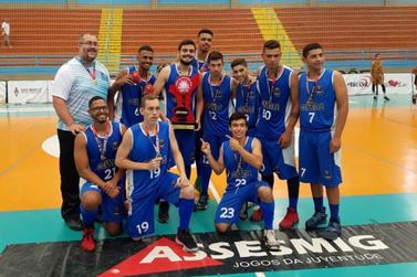 Equipe masculina de Basquete é campeã sub-23 do JOJU 2019
