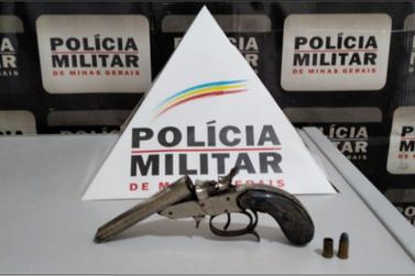 Polícia Militar apreende arma após discussão familiar