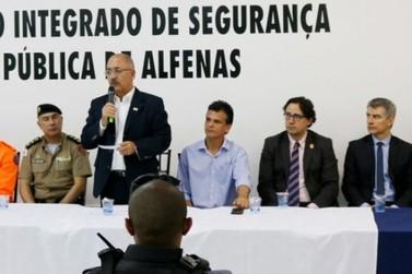 Alfenas é primeira cidade a receber novo programa contra criminalidade