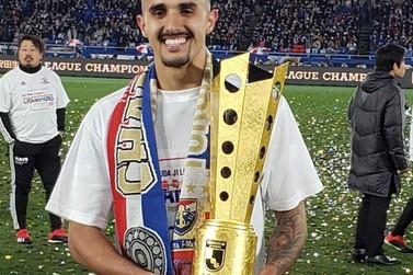 Thiago Martins, de Muzambinho, conquista J-League no Japão