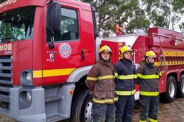 Corpo de Bombeiros de Guaxupé recebe duas novas viaturas