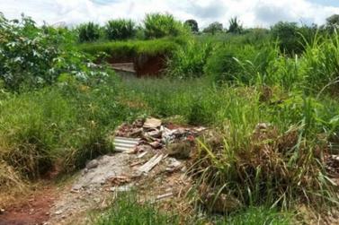 Prefeitura faz notificação coletiva para limpeza de terrenos no município